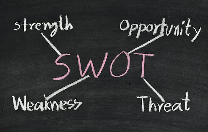 Comment utiliser l'analyse SWOT pour optimiser une stratégie de contenu ?