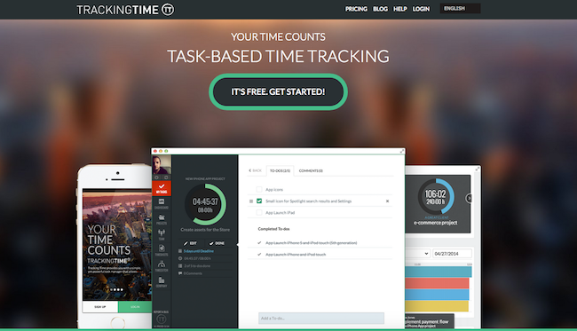 tracking-time