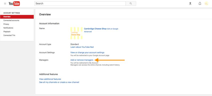 Ajouter ou supprimer des administrateurs sur YouTube.png.
