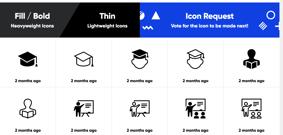 Sitio de IconMonstr