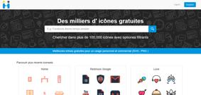 Sitio de pictogramas Iconos