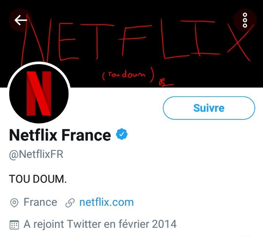 Bannière Netflix