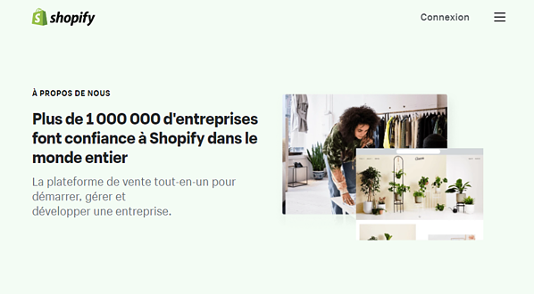 Shopify About Page