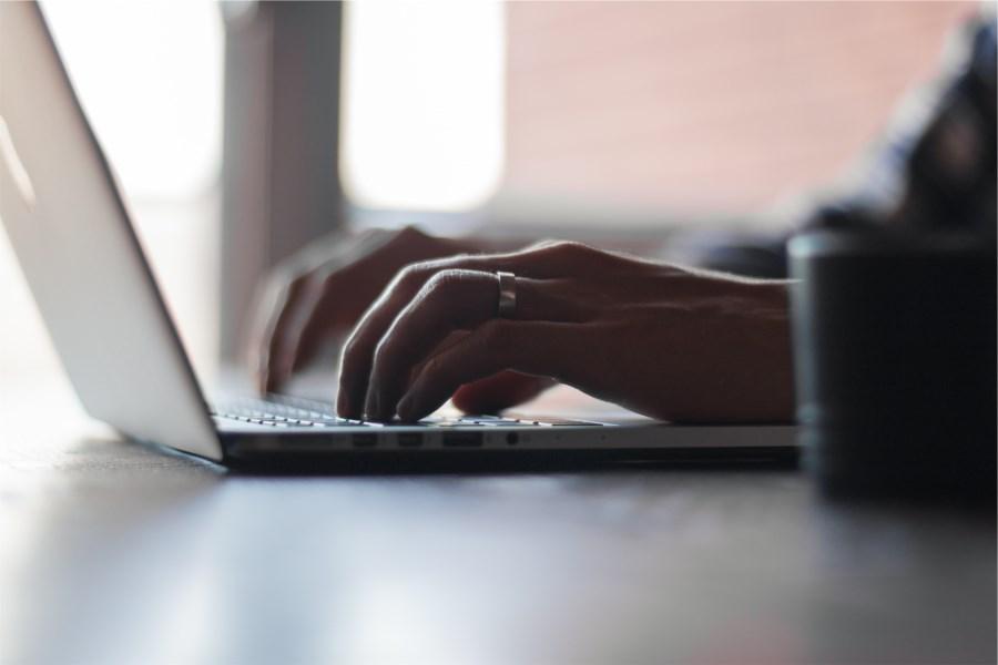 écrire ordinateur