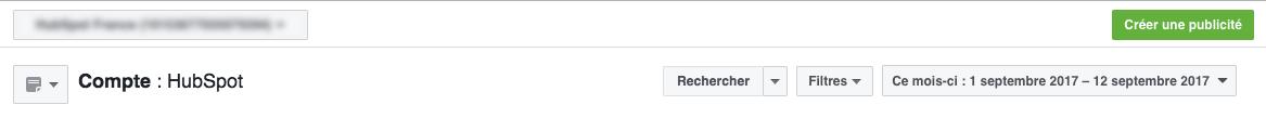 facebook ads creation step 1