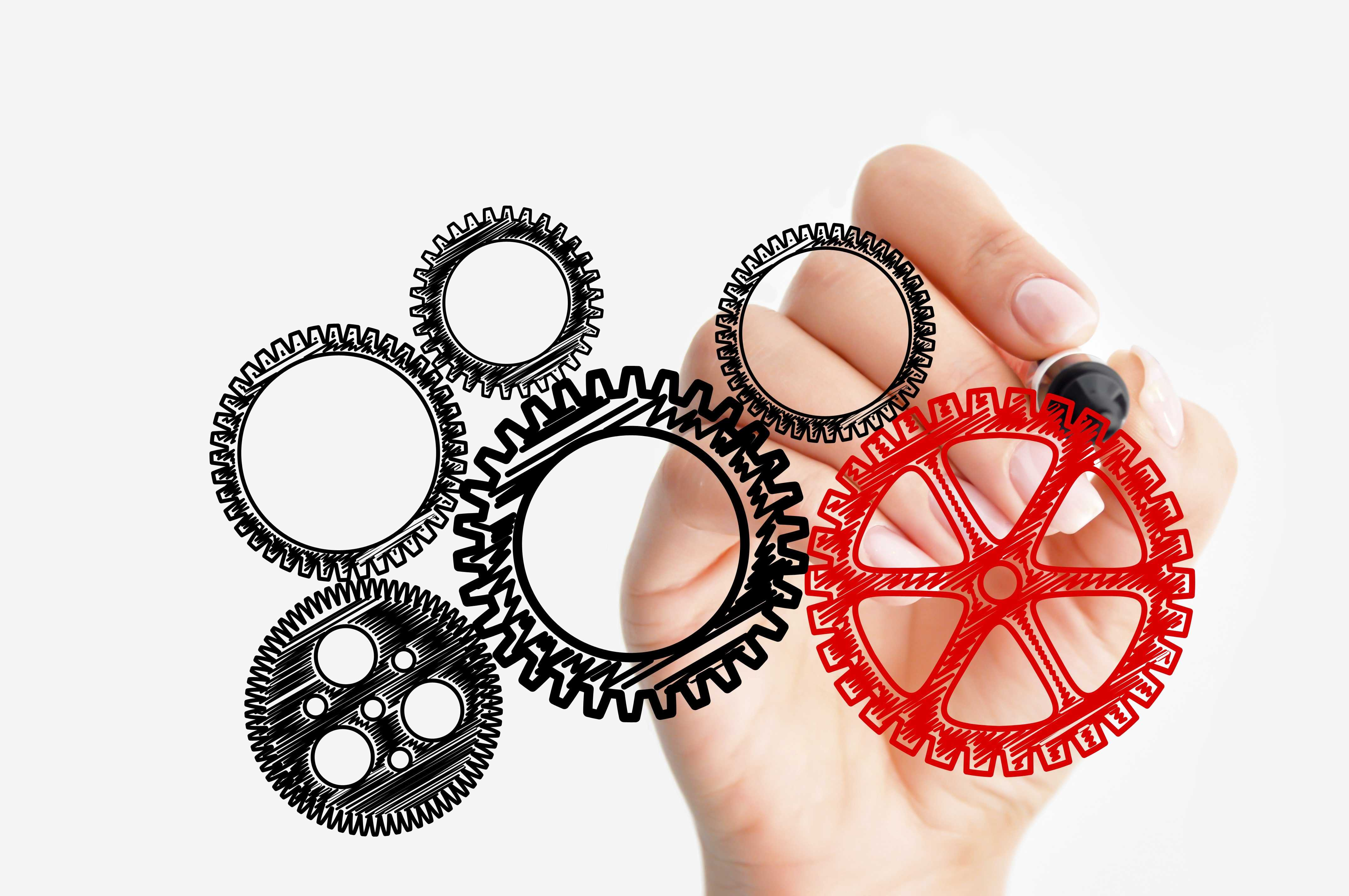 Marketing automation gears