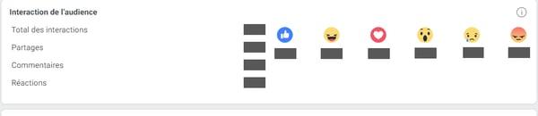 interaction audience vidéo facebook