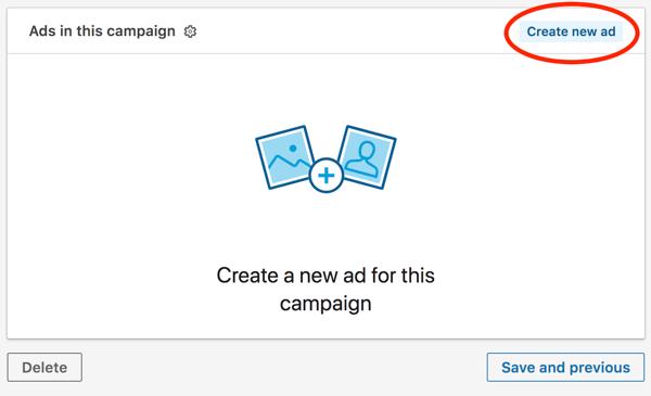 Créer une publicité sur LinkedIn