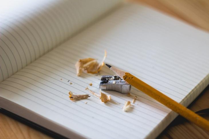 crayon cahier