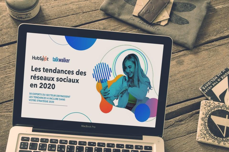 MacBook Rapport réseaux sociaux 2020