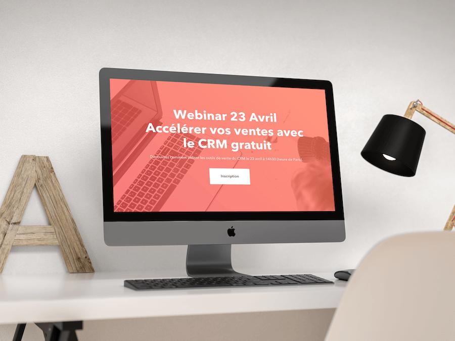 Webinar : Comment accélérer vos ventes avec le CRM gratuit de HubSpot