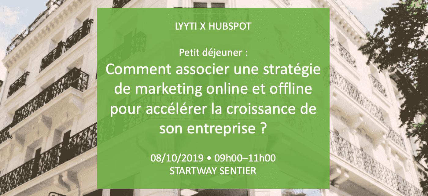 [Événement] Comment associer une stratégie de marketing online et offline ?