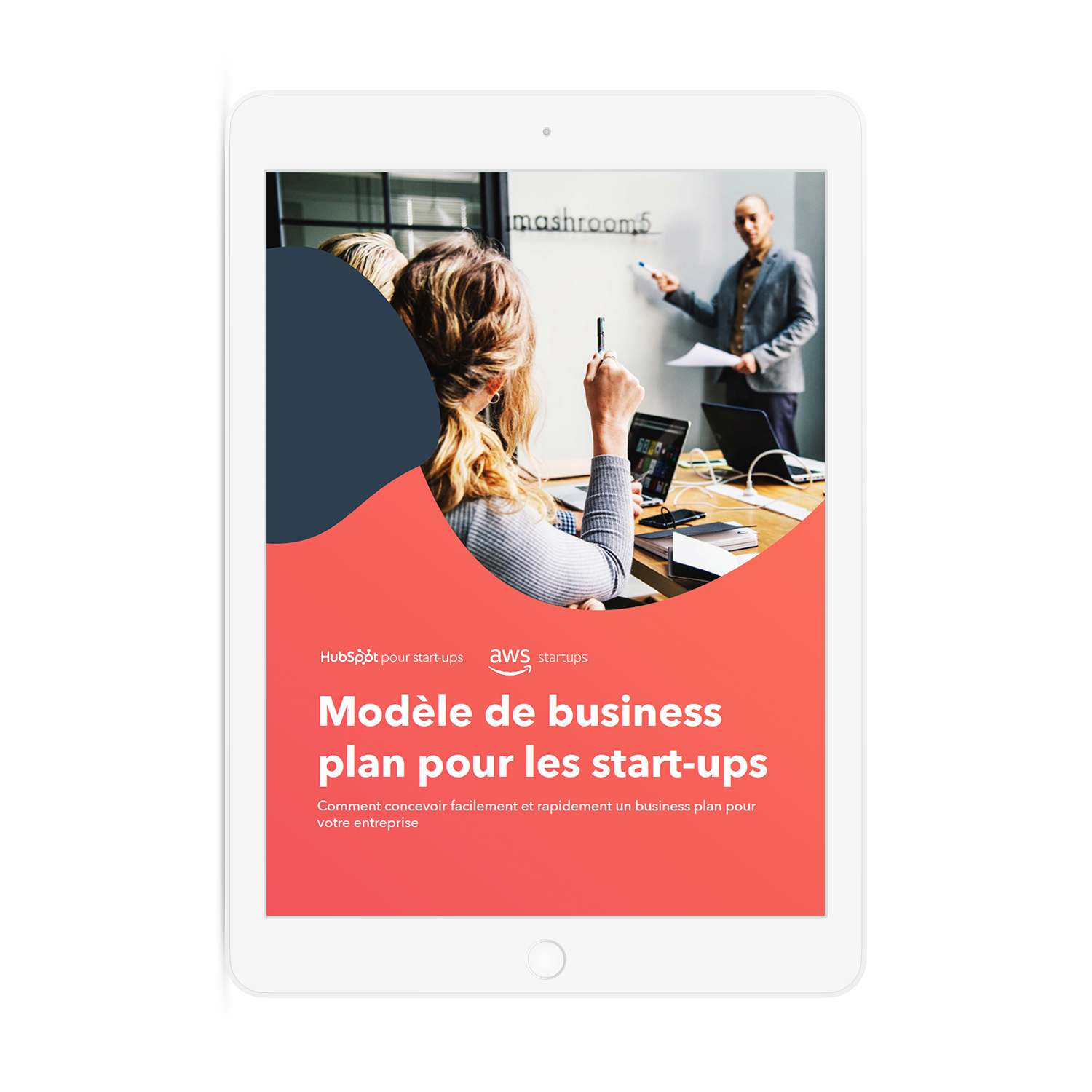 Startup Business Template ipad-1
