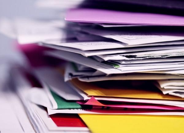 documents rangés