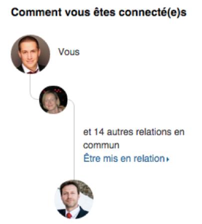 Relation LinkedIn