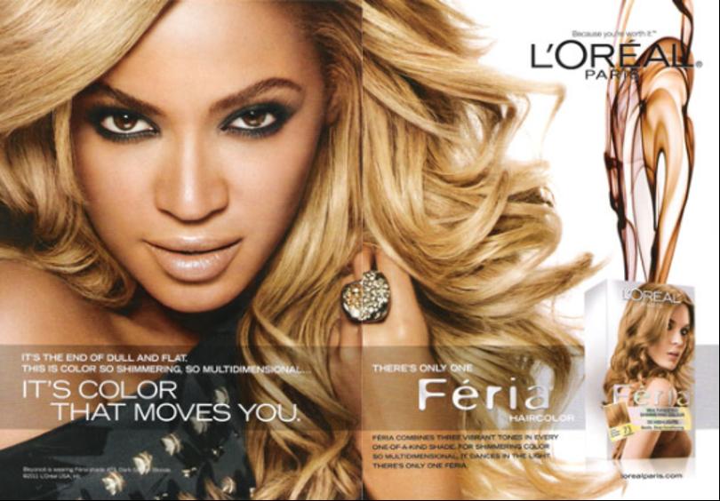 Identité de marque L'Oréal