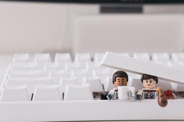 lego dans un clavier