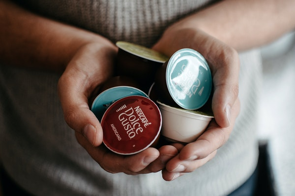 des capsules Nescafé