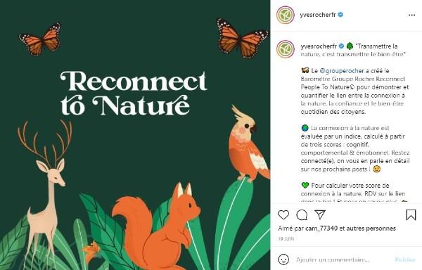 authenticité de marque sur instagram
