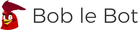 logo de bob le bot chatbot vocal