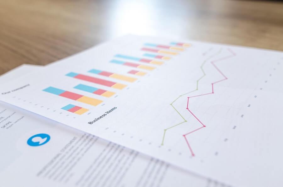 graphique papier illustrant la significativité statistique