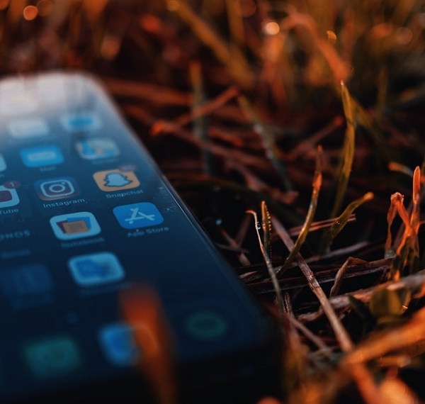 snapchat sur un mobile